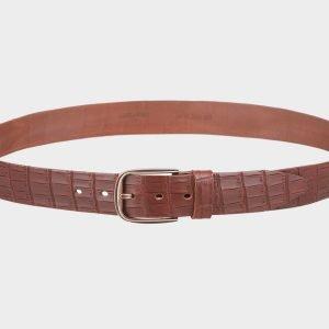 Уникальный светло-коричневый женский джинсовый ремень ATS-695
