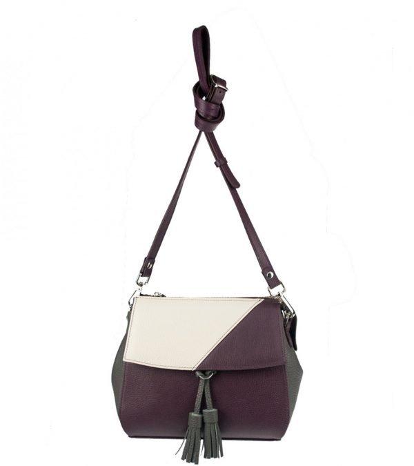 Неповторимая бордовая женская сумка FBR-2317