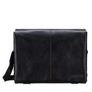 Удобная черная мужская сумка через плечо BRL-207 219852