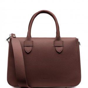 Деловая коричневая женская сумка FBR-2657