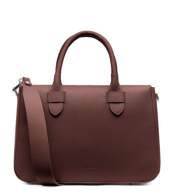 Стильная коричневая женская сумка FBR-2657