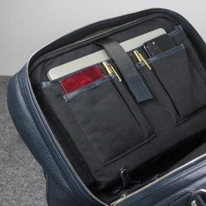 Удобная синяя сумка трансформер для командировок BRL-23332 222058