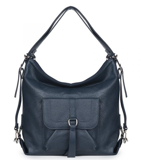Функциональная синяя женская сумка FBR-2663