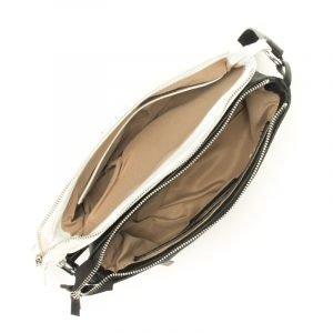 Деловая белая женская сумка через плечо FBR-159 217646