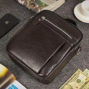 Неповторимая коричневая мужская сумка через плечо BRL-33398 223018