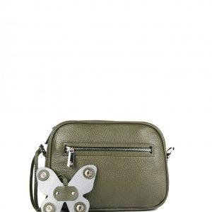 Удобная желтовато-зелёная женская сумка через плечо FBR-2354