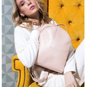 Удобный розовый женский рюкзак FBR-2130