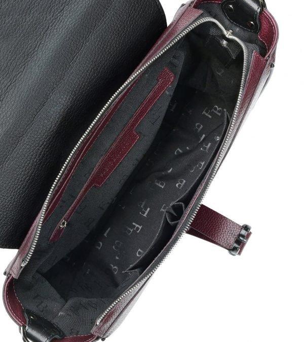 Уникальная бордовая женская сумка FBR-2452