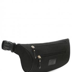 Кожаная черная поясная сумка FBR-2651 219038