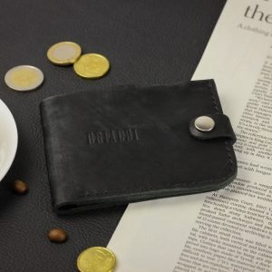 Уникальный черный мужской портмоне клатч BRL-7592 220602
