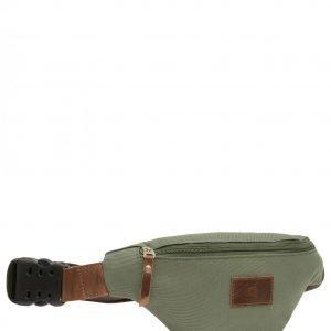 Стильная коричневая женская поясная сумка FBR-2548 218922