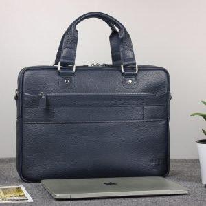 Функциональный синий мужской портфель деловой BRL-34108 223177
