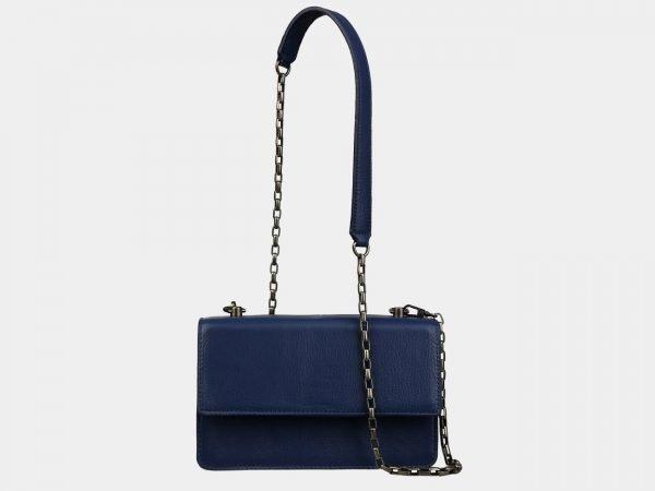 Солидный синий женский клатч ATS-3070