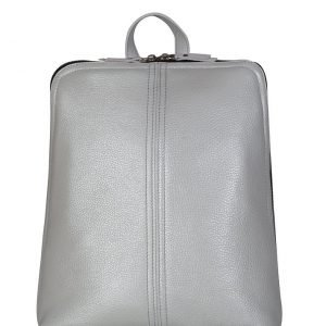 Деловой серый женский рюкзак FBR-2648