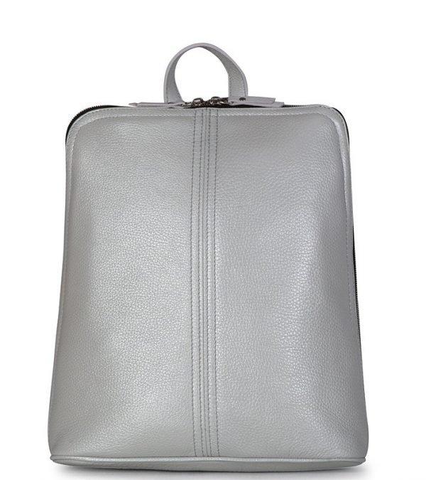 Удобный серый женский рюкзак FBR-2648
