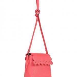 Функциональная розово-оранжевая женская сумка FBR-2278