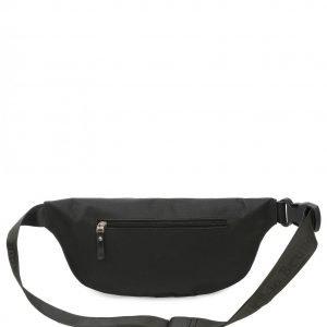 Кожаная черная поясная сумка FBR-2651 219039