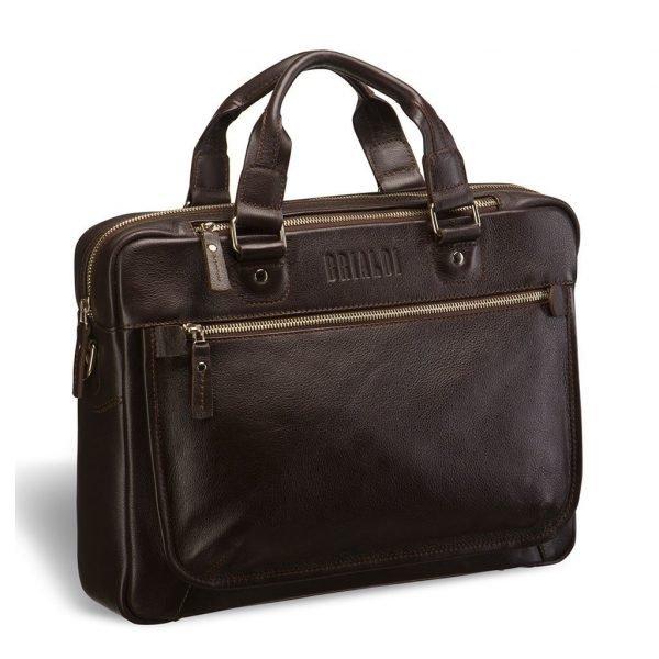 Деловая коричневая мужская классическая сумка BRL-2976