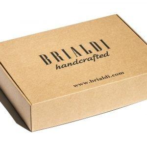 Кожаная синяя мужская сумка через плечо BRL-7393 220544