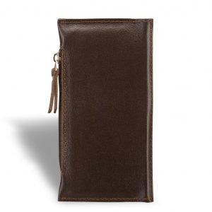 Стильный коричневый мужской портмоне клатч BRL-8451 220729