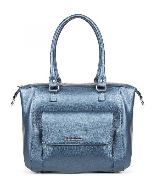 Удобная синяя женская сумка FBR-261