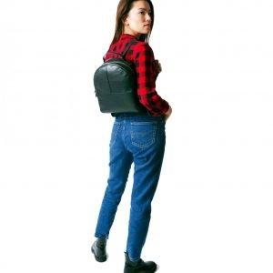 Неповторимый черный женский рюкзак FBR-2308