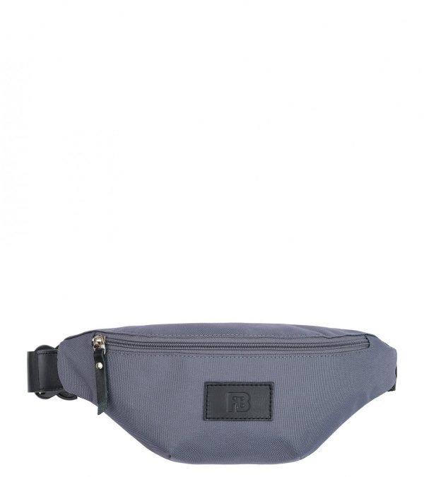 Вместительная серая женская поясная сумка FBR-2496