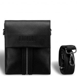 Деловая черная мужская сумка через плечо BRL-19874 221658