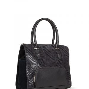 Деловая черная женская сумка FBR-278