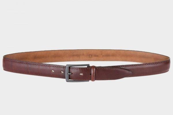 Удобный коричневый мужской классический ремень ATS-126
