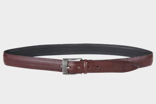 Деловой коричневый мужской классический ремень ATS-129