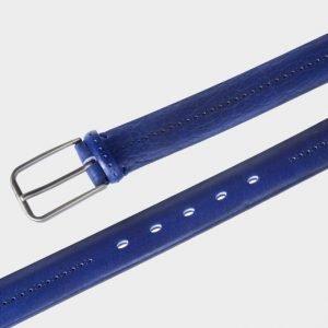 Модный синий мужской классический ремень ATS-135