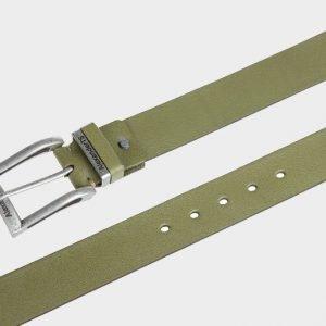 Стильный желтовато-зелёный женский джинсовый ремень ATS-166 217504
