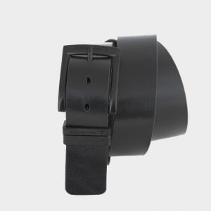 Удобный черный мужской джинсовый ремень ATS-139