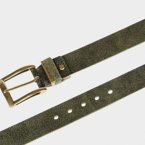 Деловой зеленый женский джинсовый ремень ATS-168 217473
