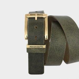 Модный зеленый женский джинсовый ремень ATS-168 217474
