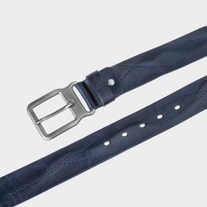 Неповторимый синий женский джинсовый ремень ATS-171 217477