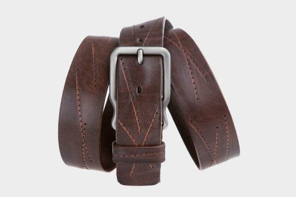 Модный коричневый женский джинсовый ремень ATS-172