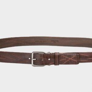 Удобный коричневый женский джинсовый ремень ATS-172
