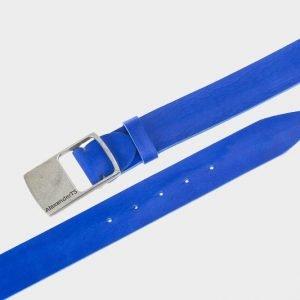 Стильный синий мужской джинсовый ремень ATS-146 217547