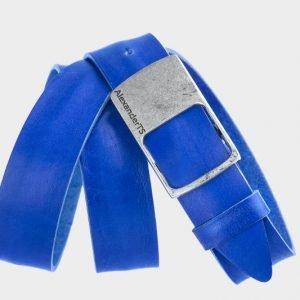 Стильный синий мужской джинсовый ремень ATS-146 217548