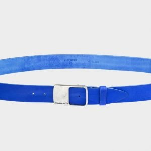 Уникальный синий мужской джинсовый ремень ATS-146