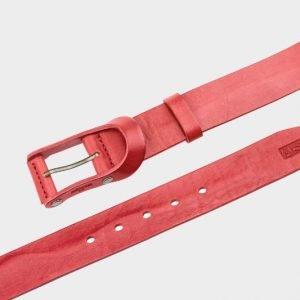 Уникальный красный мужской джинсовый ремень ATS-153 217532