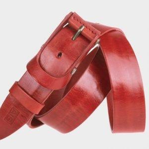 Уникальный красный мужской джинсовый ремень ATS-153 217533