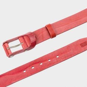 Уникальный красный мужской джинсовый ремень ATS-156 217524