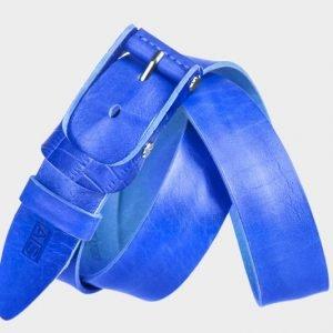 Стильный синий женский джинсовый ремень ATS-185 217462