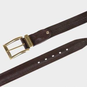 Неповторимый коричневый мужской джинсовый ремень ATS-162 217516
