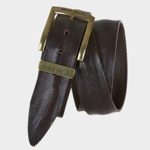 Неповторимый коричневый мужской джинсовый ремень ATS-162 217517