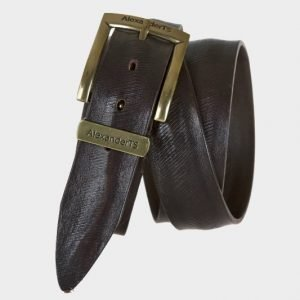 Удобный коричневый женский джинсовый ремень ATS-190 217466