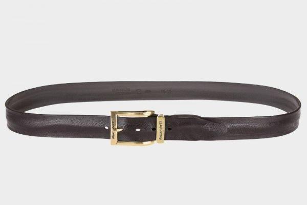 Неповторимый коричневый мужской джинсовый ремень ATS-162